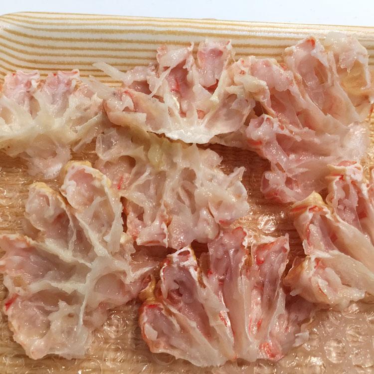 生ズワイガニ 肩肉(ダキ)半割 2kg前後 [カニ身 蟹 料理 出汁]
