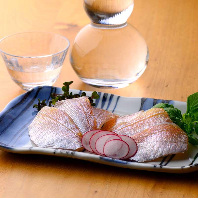 笹漬膳3ヶ入(小鯛・のどぐろ・すずきの昆布〆め)