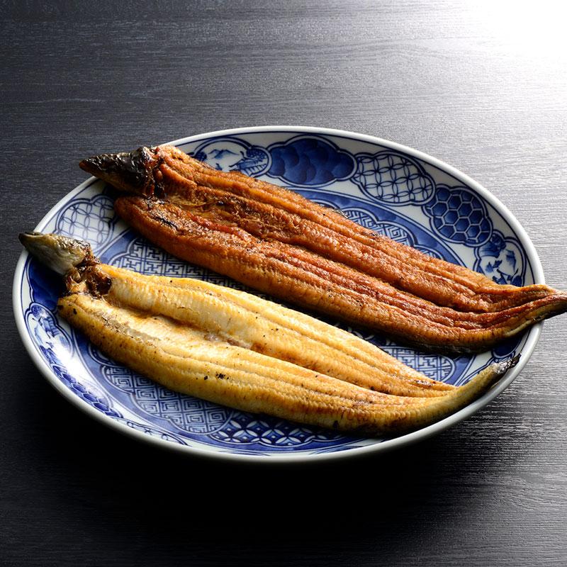 愛知県 三河一色 うなぎ 蒲焼き・白焼き 各1尾