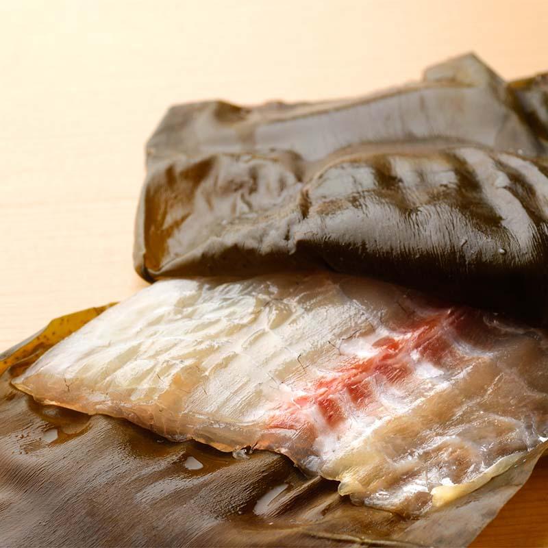 真鯛昆布〆 半樽 70g