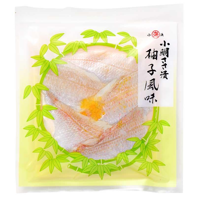 小鯛ささ漬柚子風味 真空40g