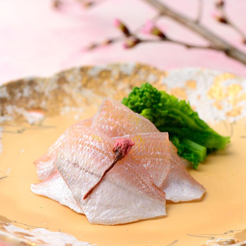 春の笹漬4膳(小鯛 小昆 桜香 真鯛昆)