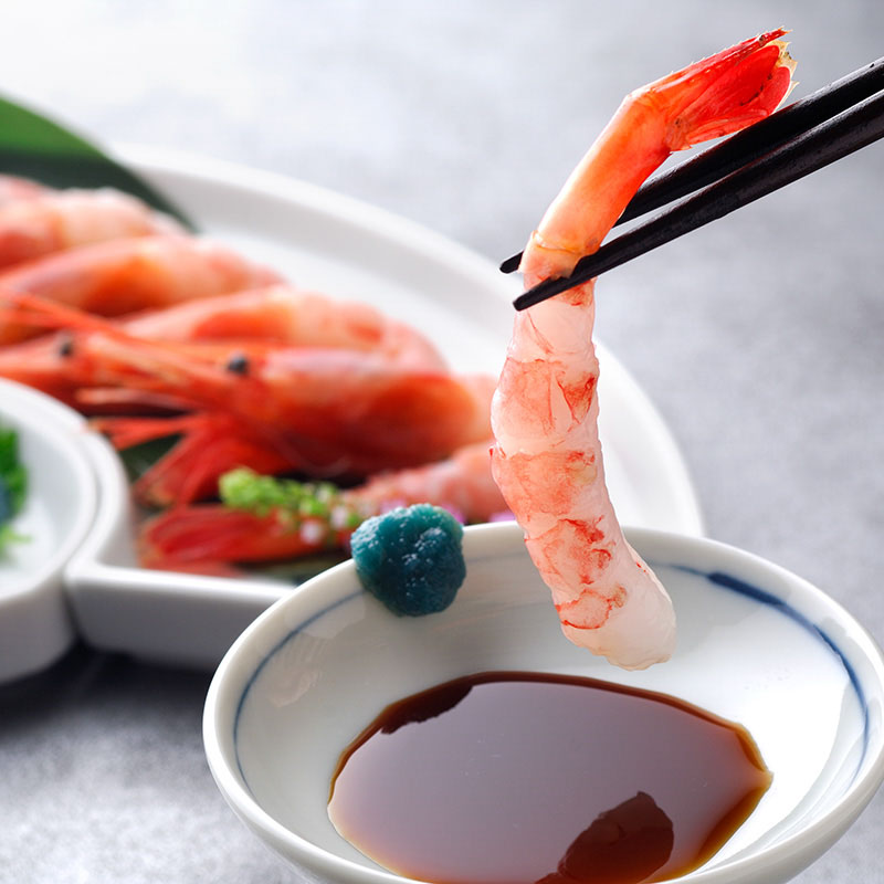 【送料無料】日本海甘えび 子持ち 大(30尾入り)