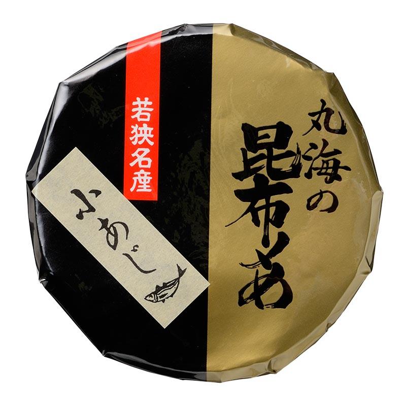 小あじ昆布〆 半樽 70g