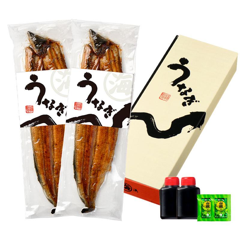【送料無料】愛知県 三河一色 うなぎ蒲焼き 2尾