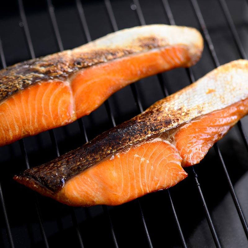 焼魚 トラウトサーモン醤油干