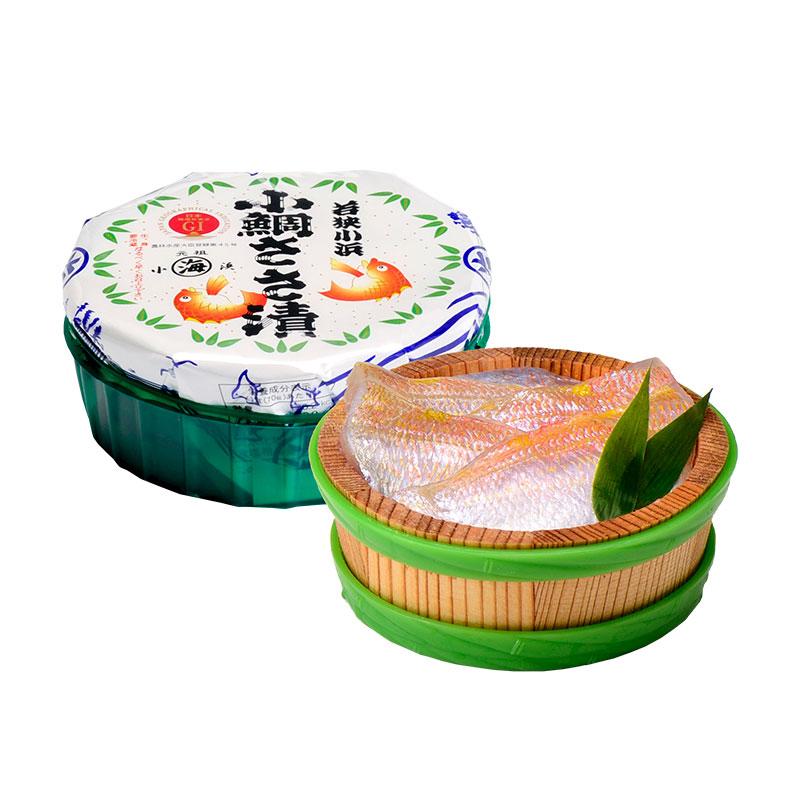 笹漬膳3ヶ入(小鯛1 サーモン2)