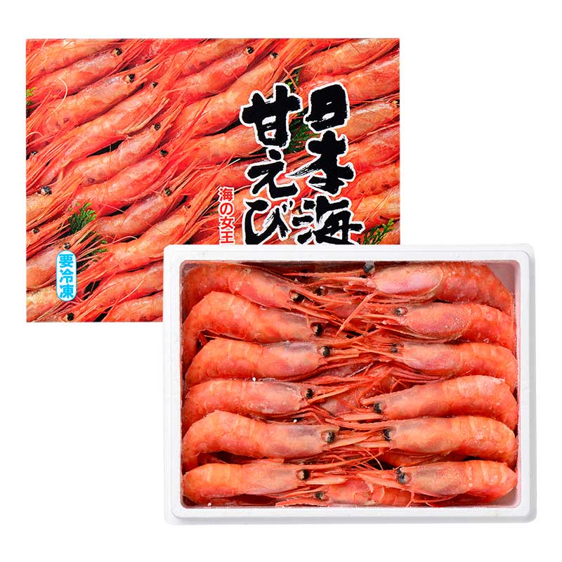 日本海甘えび 子無し 中(35尾入り)