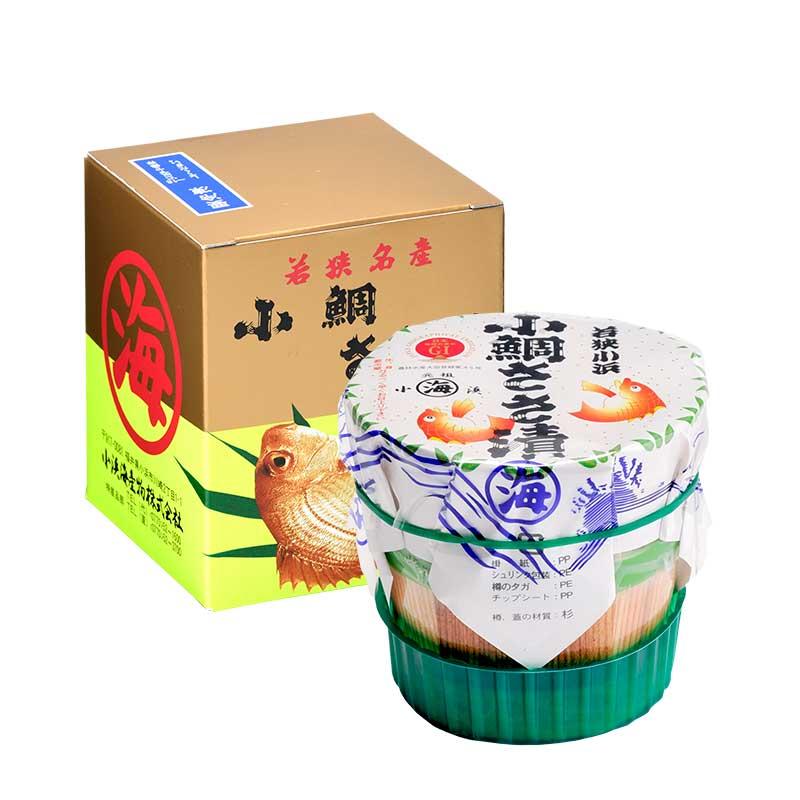 【送料無料】冷凍 小鯛ささ漬 大樽160g