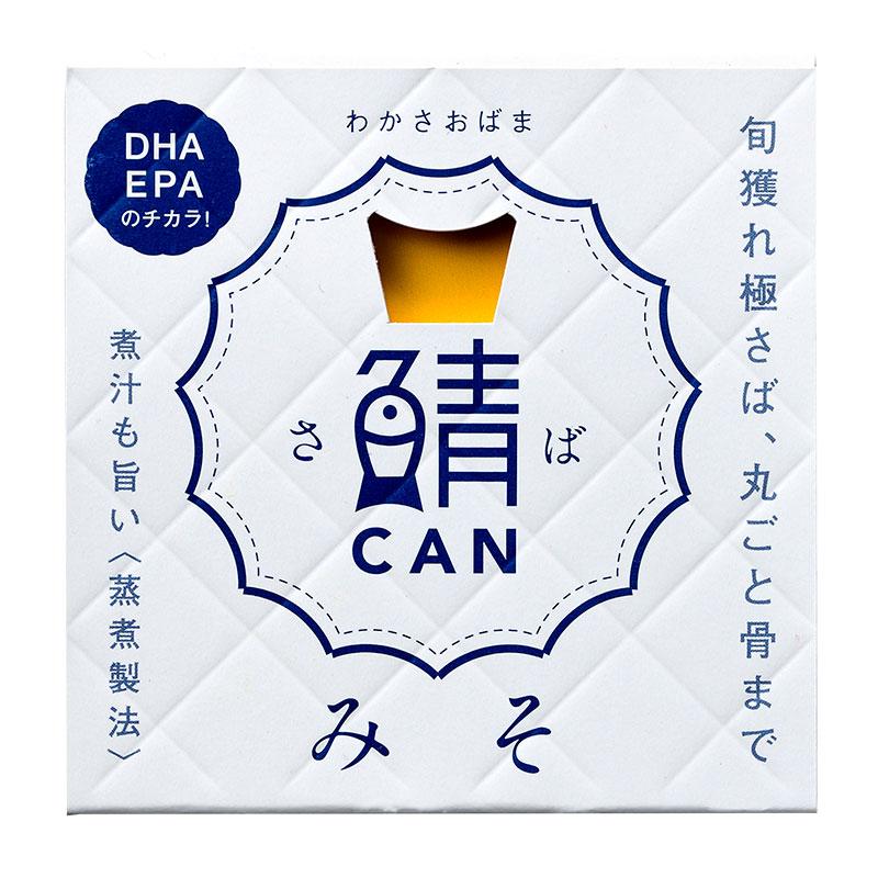 旬獲れ 鯖缶 味噌煮90g
