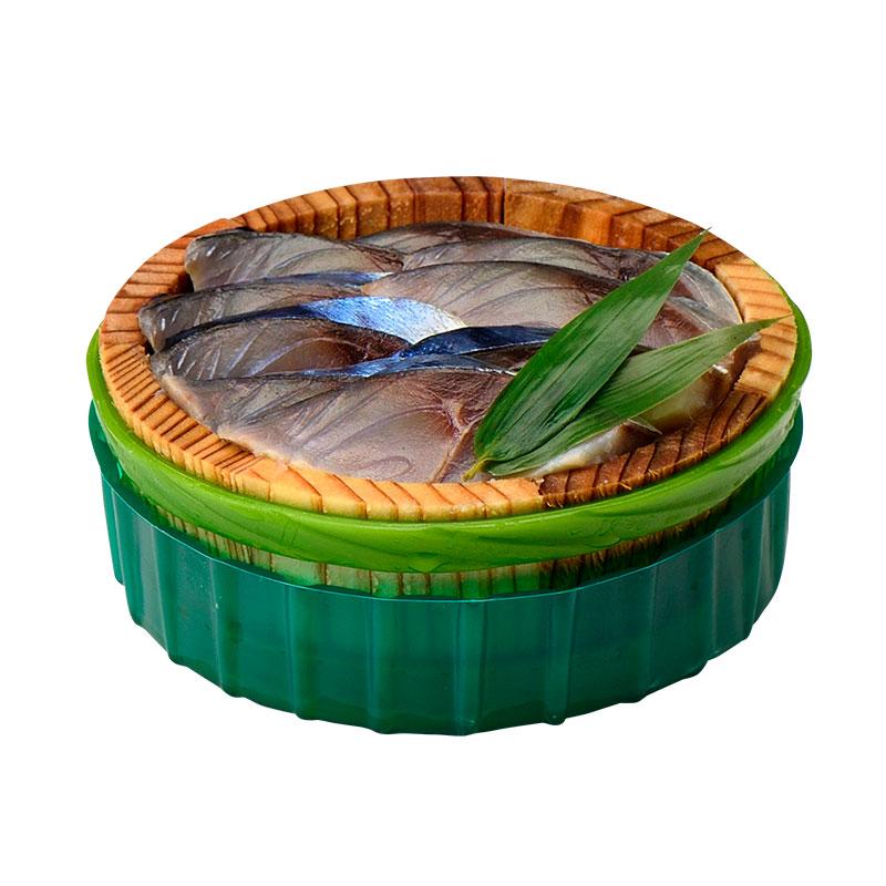 【送料無料】鯖のささ漬 半樽 70g