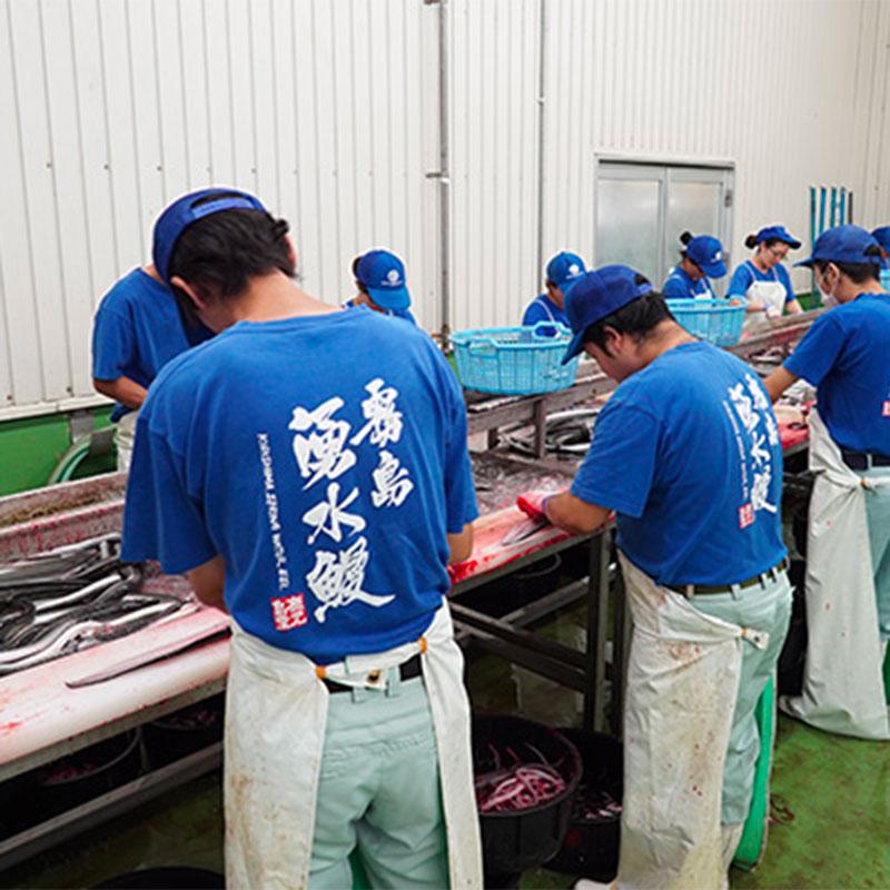 鹿児島県産 うなぎ蒲焼き・白焼き 各約200g×2尾 (タレ、山椒付き)