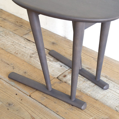 日進木工 Sof(ソフ) サイドテーブル 無垢材 高さ50cm