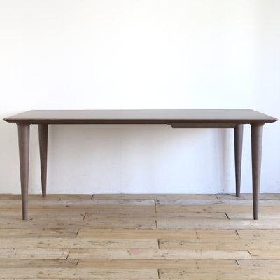 日進木工 Resty(リスティ) ダイニングテーブル レッドオーク 無垢材 幅160/180/210cm