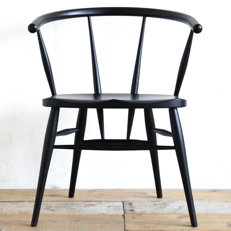 高山ウッドワークス カフェチェア/椅子 オーク 着色ウレタン塗装 W512A