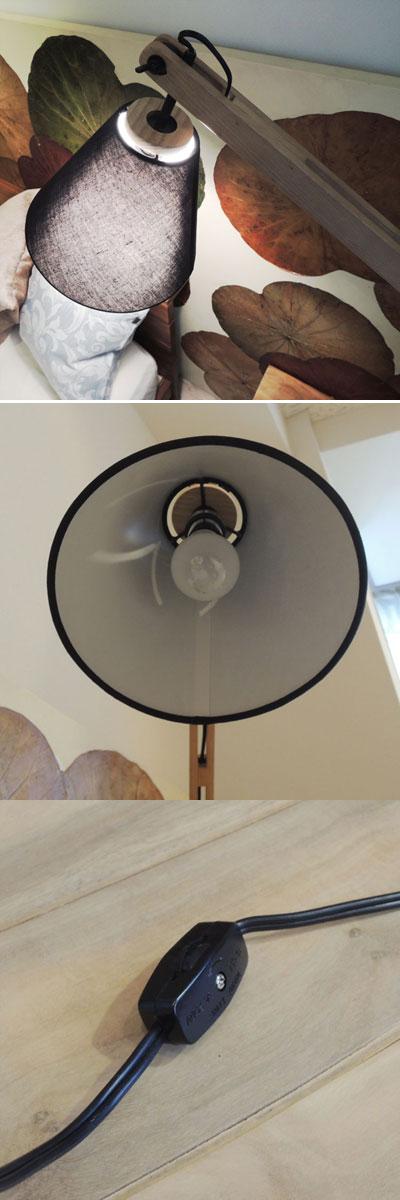 アーキテクトフロアランプ Sサイズ