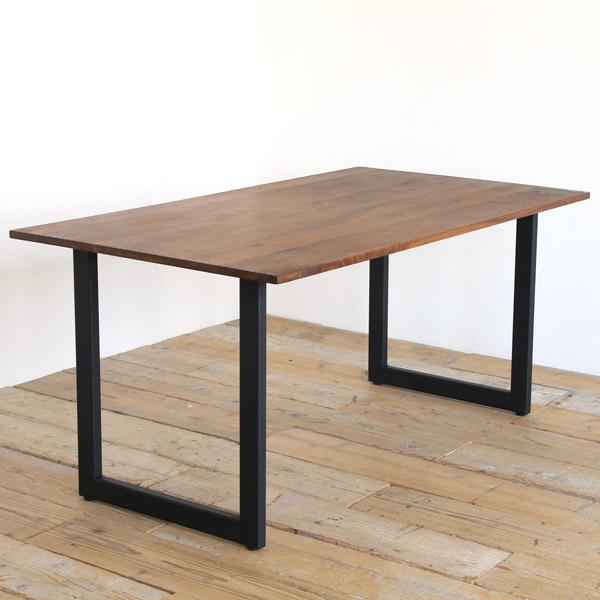 マルナクールA ダイニングテーブル 無垢 ウォールナット アイアン 150 180