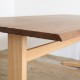 高山ウッドワークス ダイニングテーブル 天板ウォールナット無垢材 天厚28mm  オーダーテーブル 幅120-210cm