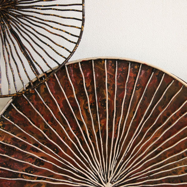 SENSO d VITA(センソ デ ヴィッタ) 輪 壁飾り 壁掛け ウォール アート オブジェ WALL-ARTS ウォールアーツ