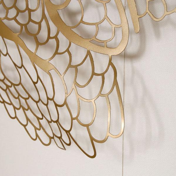 翼 壁飾り 壁掛け ウォール アート オブジェ WALL-ARTS ウォールアーツ SENSO d VITA(センソ デ ヴィッタ)
