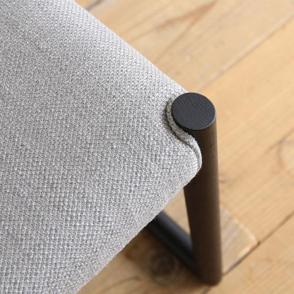 日進木工 Natural Brown(ナチュラルブラウン) LDチェア/椅子 座面の高さ39cm