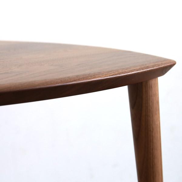 kitani(キタニ) サイドテーブル ウォールナット無垢材 KTST-07 KTST-08