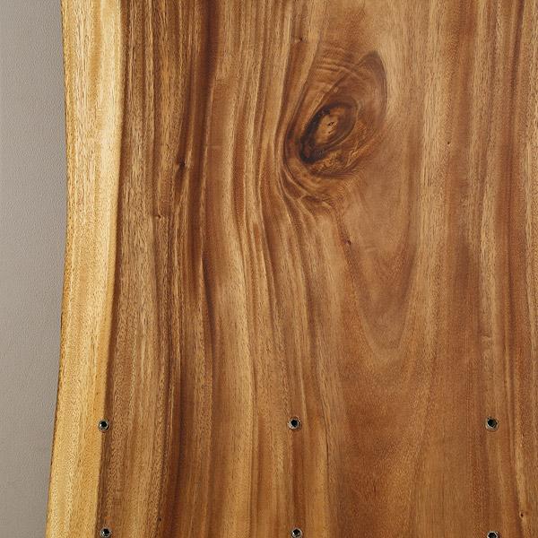 一枚板 天板のみ テーブル 無垢 幅180 モンキーポッド 1枚板 ナチュラル Cタイプ SENSO d VITA(センソ デ ヴィッタ)