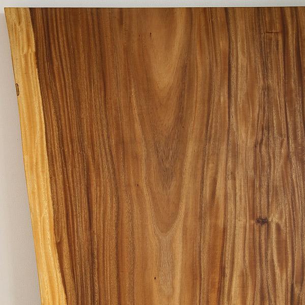 一枚板 天板のみ テーブル 無垢 幅180 モンキーポッド 1枚板 ナチュラル Dタイプ SENSO d VITA(センソ デ ヴィッタ)
