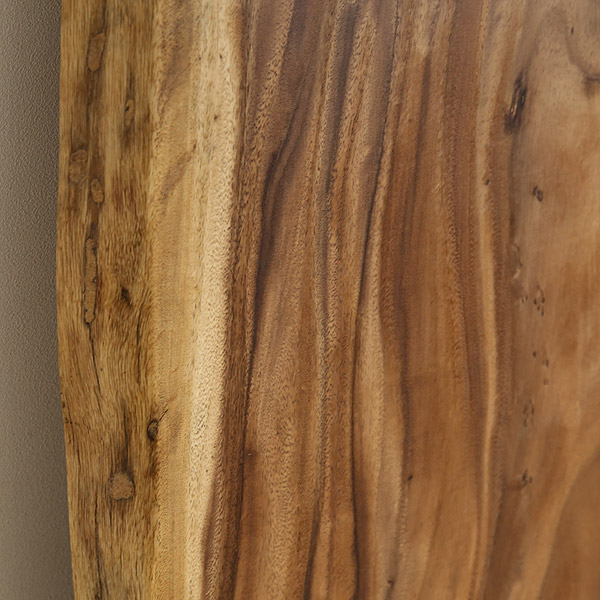 一枚板 天板のみ テーブル 無垢 幅180 モンキーポッド 1枚板 ナチュラル Eタイプ SENSO d VITA(センソ デ ヴィッタ)