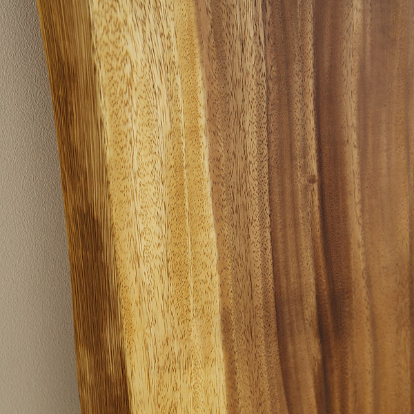 一枚板 天板のみ テーブル 無垢 幅180 モンキーポッド 1枚板 ナチュラル Fタイプ SENSO d VITA(センソ デ ヴィッタ)