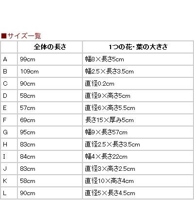タイ雑貨 アートフラワー (造花・一輪販売) 【D〜Fタイプの販売ページ】