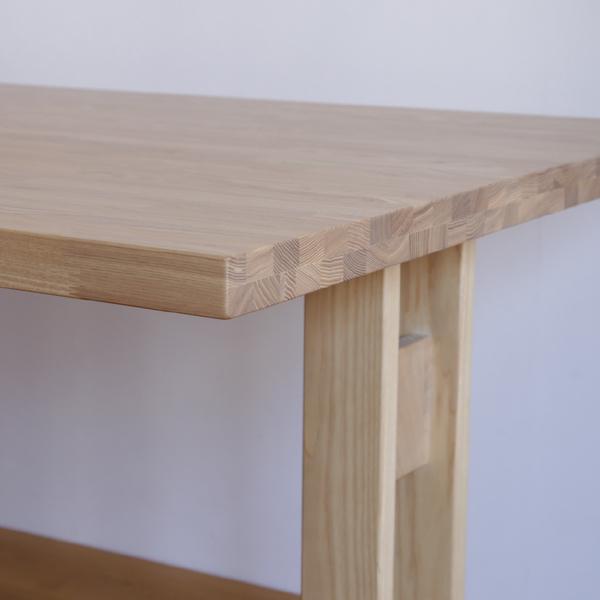 時寛 ダイニングテーブル 低めのテーブルも可能 オーク 無垢