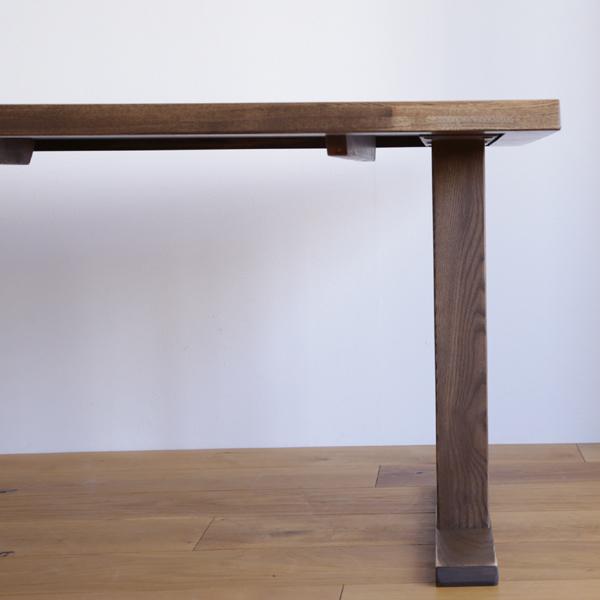 時寛 ダイニングテーブル 低めのテーブルも可能 オーク 無垢 ※テーブル脚 仕様変更になりました