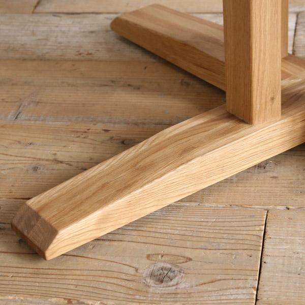 リンクス 円形 ダイニングテーブル 無垢 丸テーブル 木製 80 90 100 110 120 130 オーク