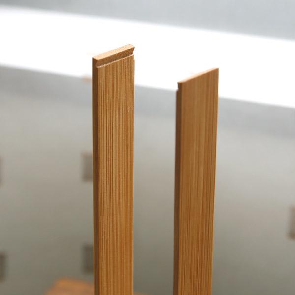 TEORI(テオリ)一輪挿し ホロウ  花瓶 試験管 1輪差し おしゃれ 一輪差し 1輪挿し 花瓶 小さい ガラス 竹製 バンブー