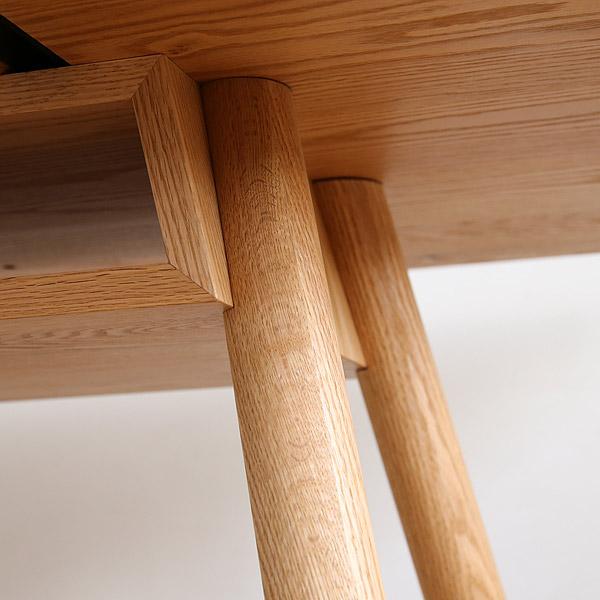 TIPO(ティーポ) LDテーブル/ダイニングテーブル 無垢材