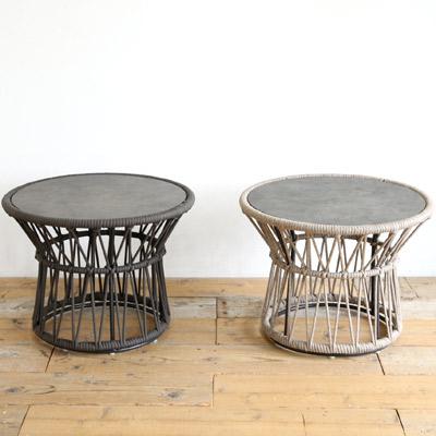 SENSO d VITA(センソ デ ヴィッタ) Tamburo(タンブーロ) サイドテーブル LO 丸テーブル