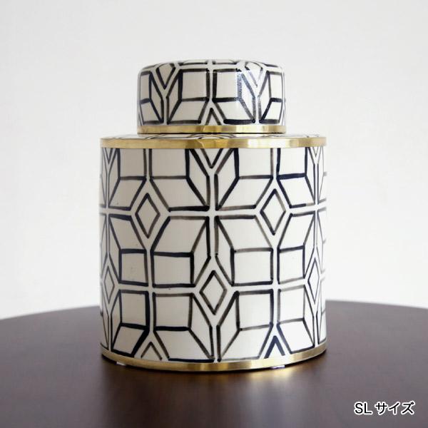 SENSO d VITA(センソ デ ヴィッタ) セラミック ボックス 小物入れ 陶磁器 おしゃれ