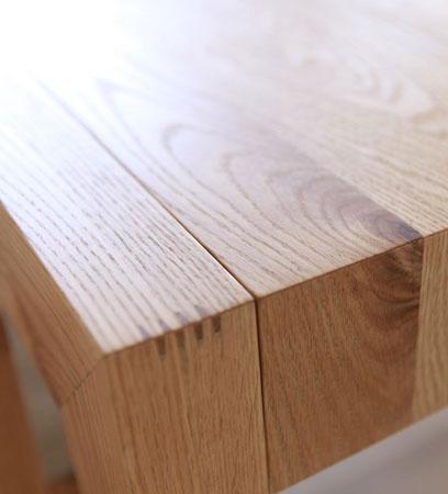 CARAMELLA(カラメッラ) ダイニングテーブル オーク 無垢材 幅140-224cm