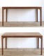 SIKI FURNITURE(シキファニチア) ノース ダイニングテーブル 無垢材 幅140-200cm