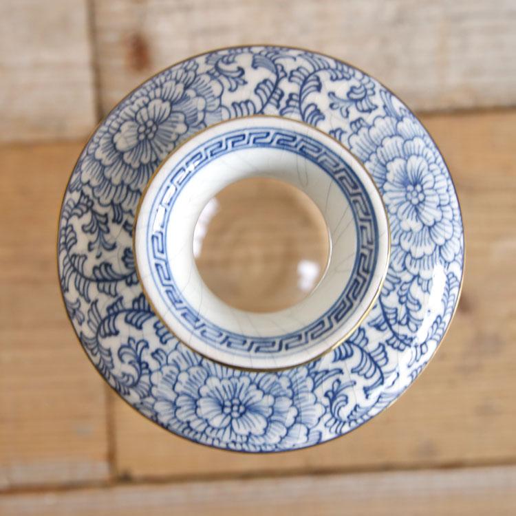 タイ雑貨 花瓶 フラワーベース 磁器