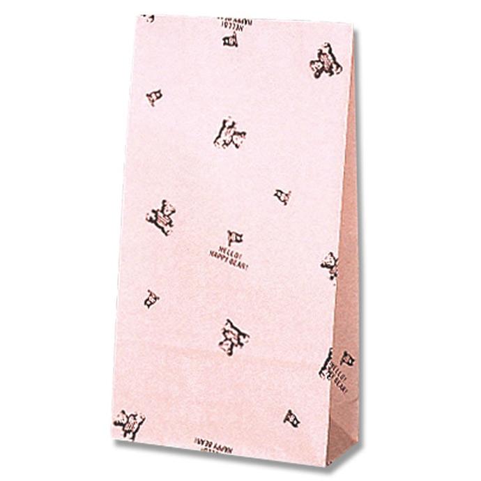 F/Bパッピーベア 底マチ付き紙袋