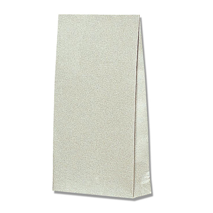 F/Bグレー無地 底マチ付き紙袋