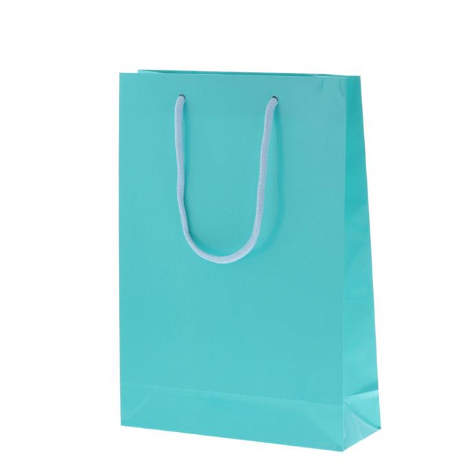 コピーHEIKO 紐手提げ紙袋 ブライトバッグ アサギ(グロスPP貼り)