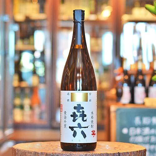 㐂六 本格芋焼酎 1800ml