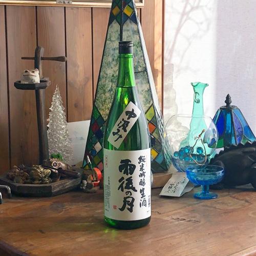 雨後の月「中汲み」純米吟醸 生酒 1800ml