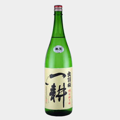 出羽桜「一耕」特別純米本生 1800ml