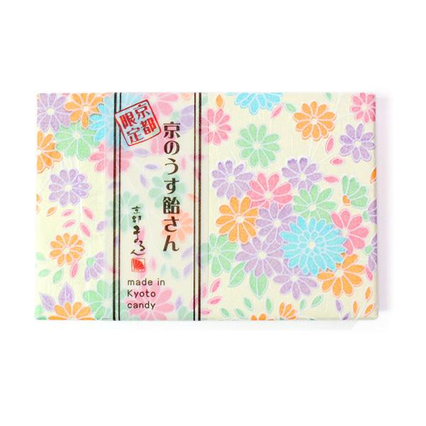 【送料無料】WEB限定・京のうす飴さんセット(たんぽぽ・おぼろ桜・舞桜・桜・いろどり/各2点)【計10点】