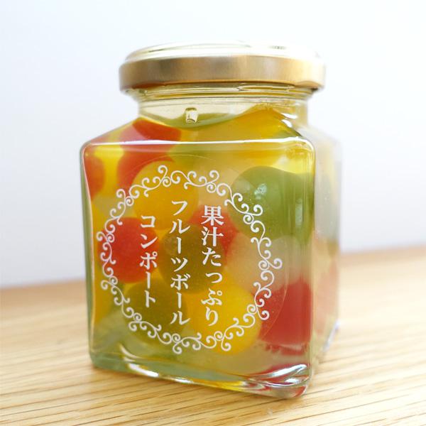 フルーツボールゼリー(ミックス) 角瓶