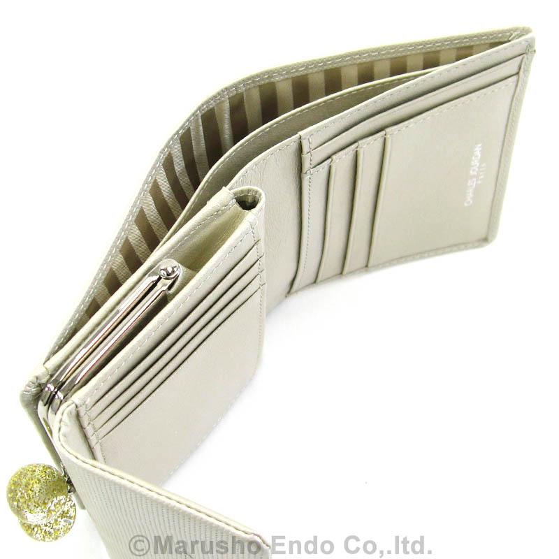 【シャルル ジョルダン】 キャンディ2 パース ガマ口2つ折り財布 [55-3301]/シャンパン